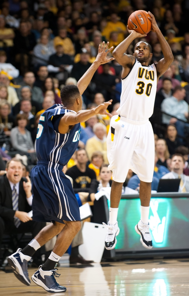 Senior Troy Daniels sunk a school-record 94 three-pointers last season. How many will he hit this year?