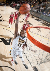 Junior Rob Brandenberg scored 10 points in VCU's 73-54 win over Alabama.