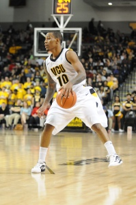VCU is 2-1 against Richmond during senior Darius Theus' career.