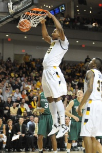 A more vocal Juvonte Reddic is averaging 13.8 points and 7.3 rebounds per game this season.