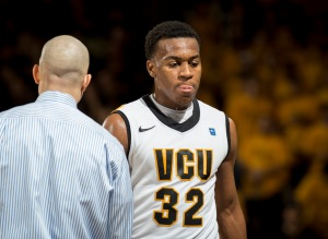 VCU Coach Shaka Smart says Johnson has made great strides defensively.