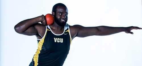 Ruffin passed on a chance to play football at Virginia State. The VCU Track & Field team is no doubt happy about his decision.