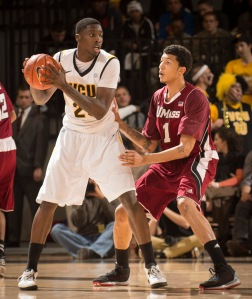 Sophomore Jarred Guest has carved out a role in VCU's eight-man rotation this season.
