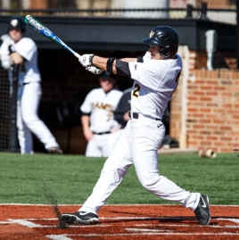 Junior Bill Cullen is hitting a team-best .406 with two home runs this season.