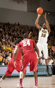 Senior Troy Daniels provided a game-high 20 points in VCU's win over Butler Saturday.