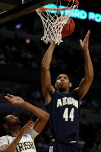 Akron 7-foot center Zeke Marshall ranks fourth nationally in blocked shots per game (3.7).