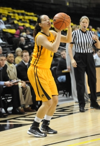 Robyn Hobson appeared in 98 games for VCU in four seasons and will graduate in May with a degree in Elementary Education.
