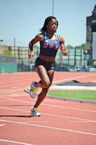 Kiara Porter ran for the United States at the 2012 World Junior Championships.