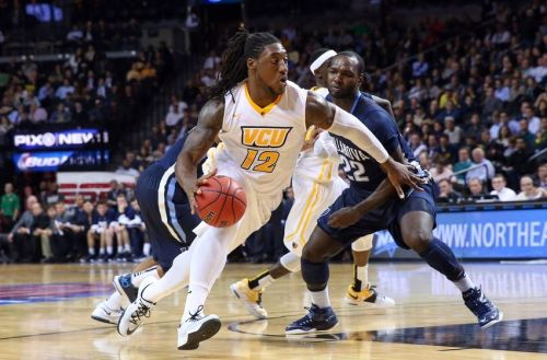 Mo Alie-Cox averaged 7.4 points, 5.7 rebounds and and 1.9 blocks per game in 2014-15. He will receive his bachelors degree in May.
